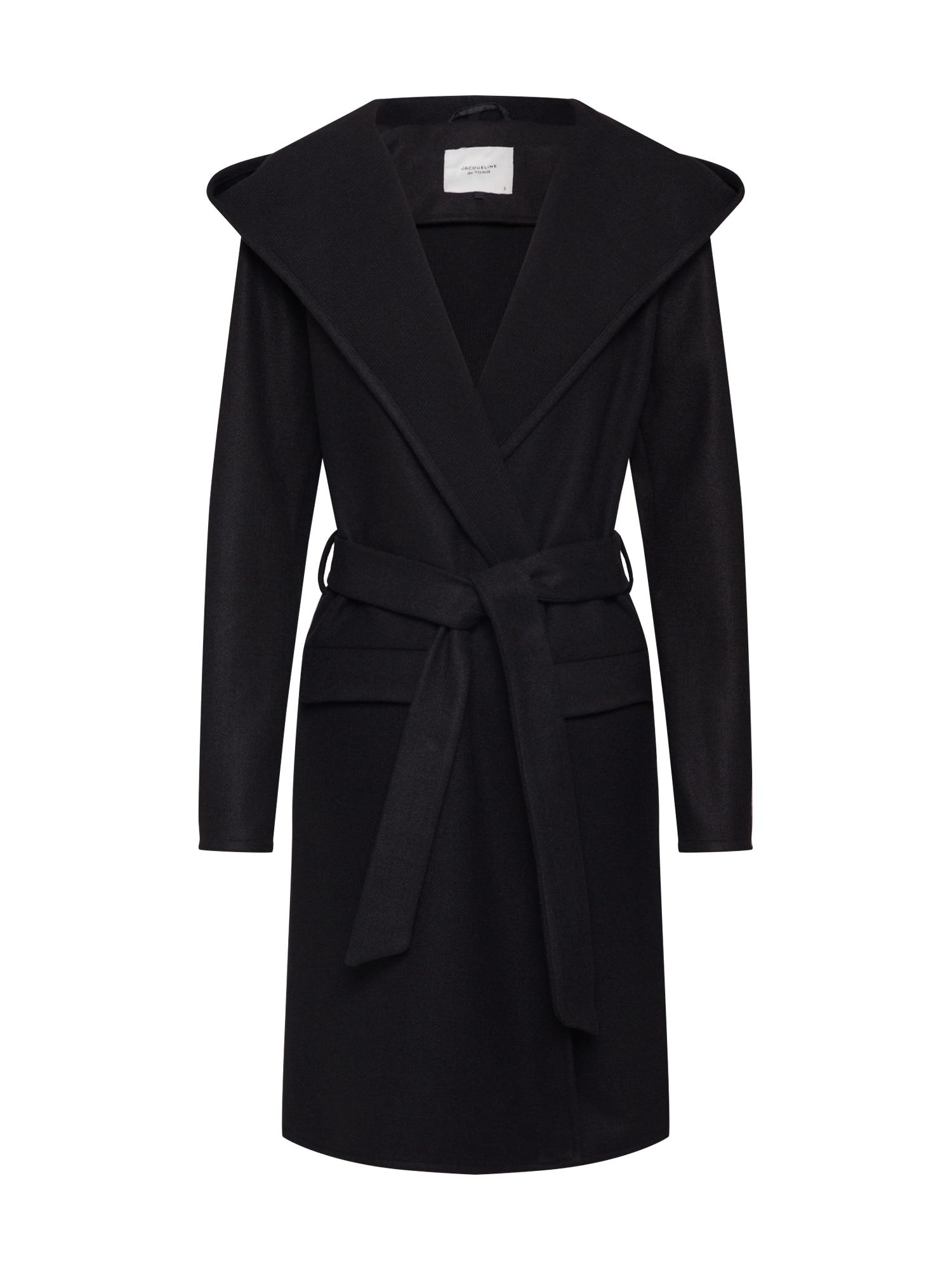 JACQUELINE de YONG Prechodný kabát 'JDYOVIDA '  čierna