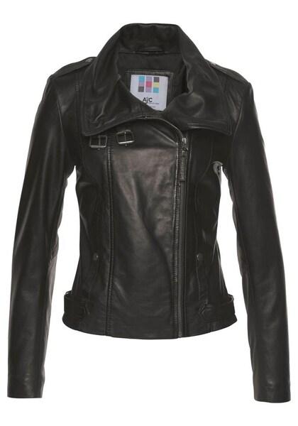 Jacken für Frauen - AJC Lederjacke schwarz  - Onlineshop ABOUT YOU