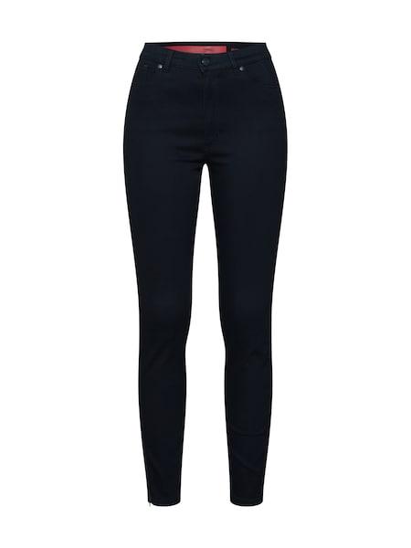 Hosen für Frauen - Jeans 'Lou 3' › HUGO › black denim  - Onlineshop ABOUT YOU
