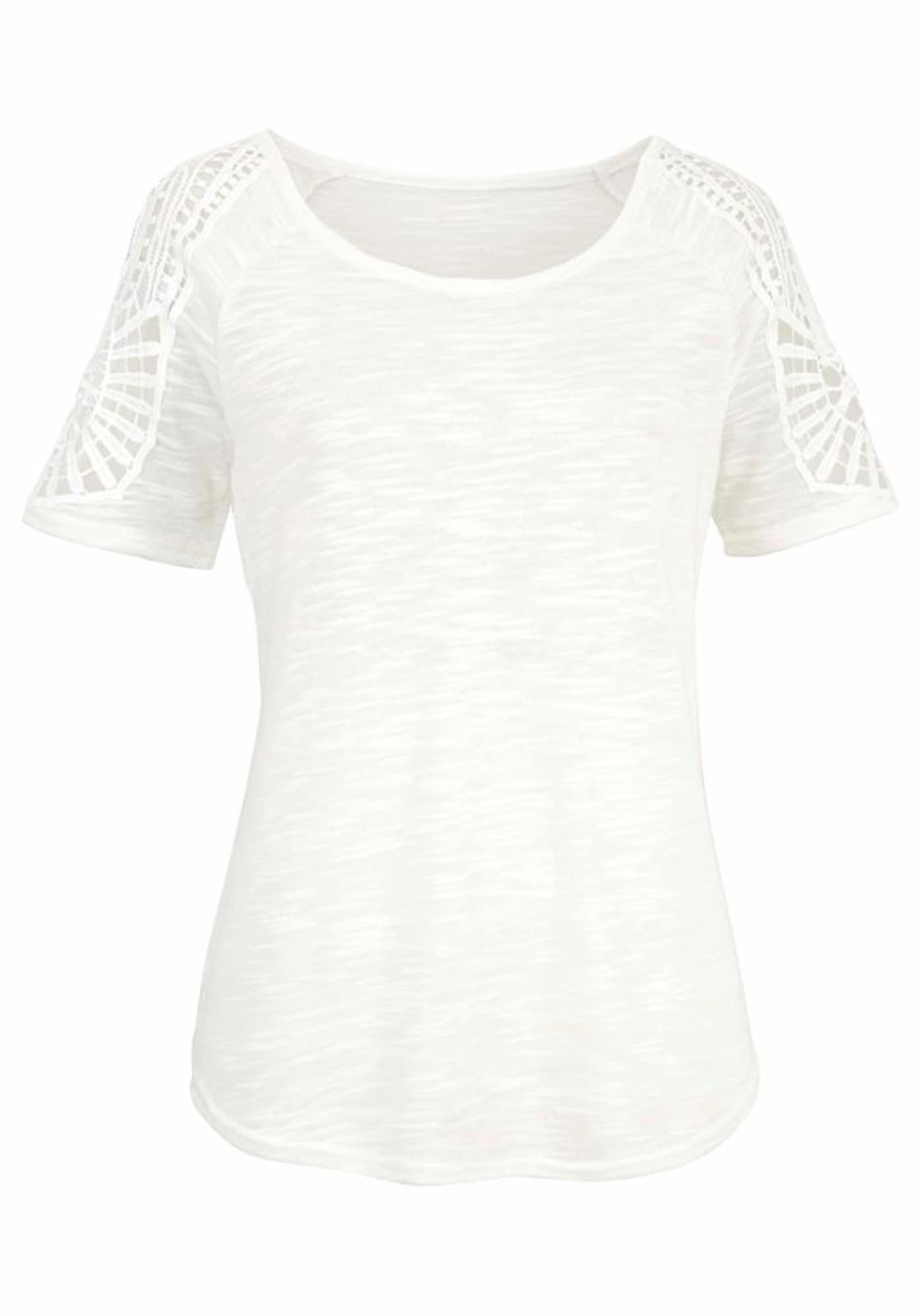 VIVANCE Marškinėliai natūrali balta