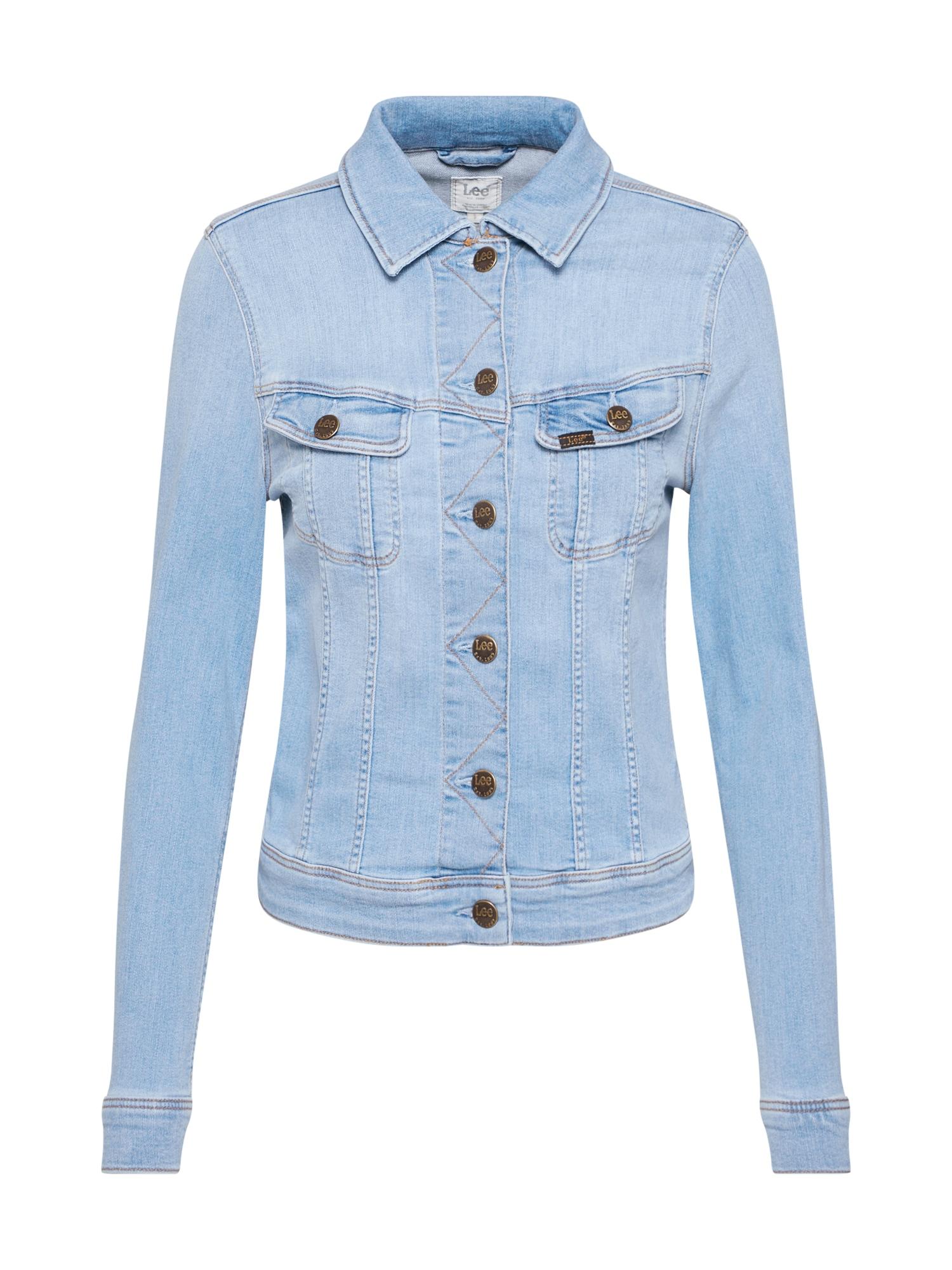Lee Demisezoninė striukė tamsiai (džinso) mėlyna