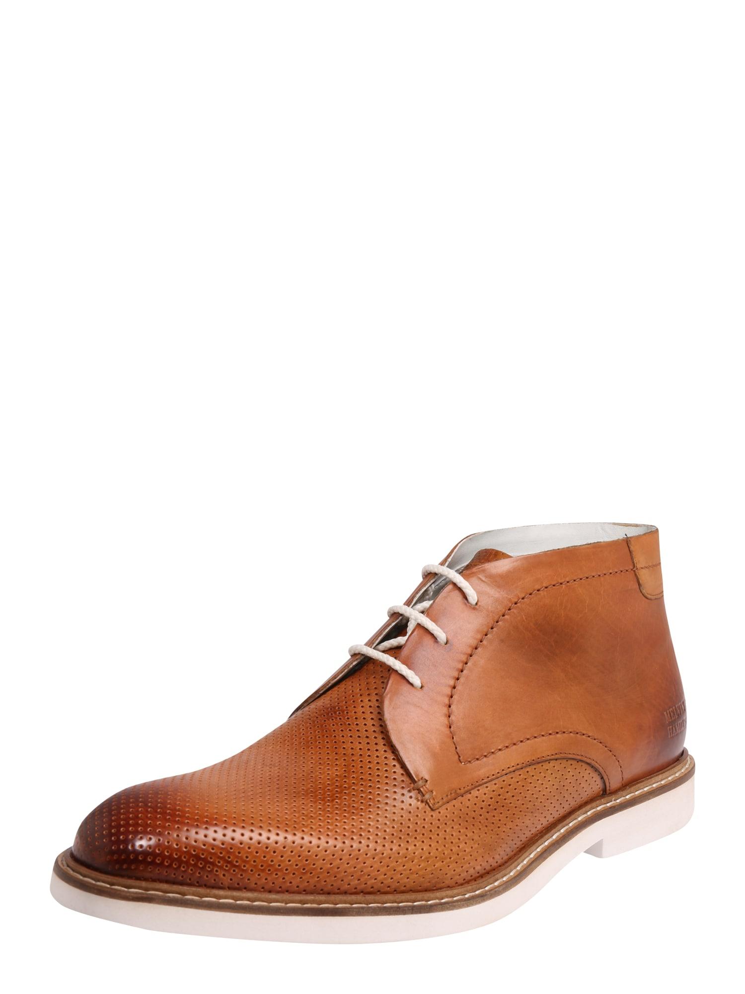 Šněrovací boty Felix 1 hnědá bílá MELVIN & HAMILTON