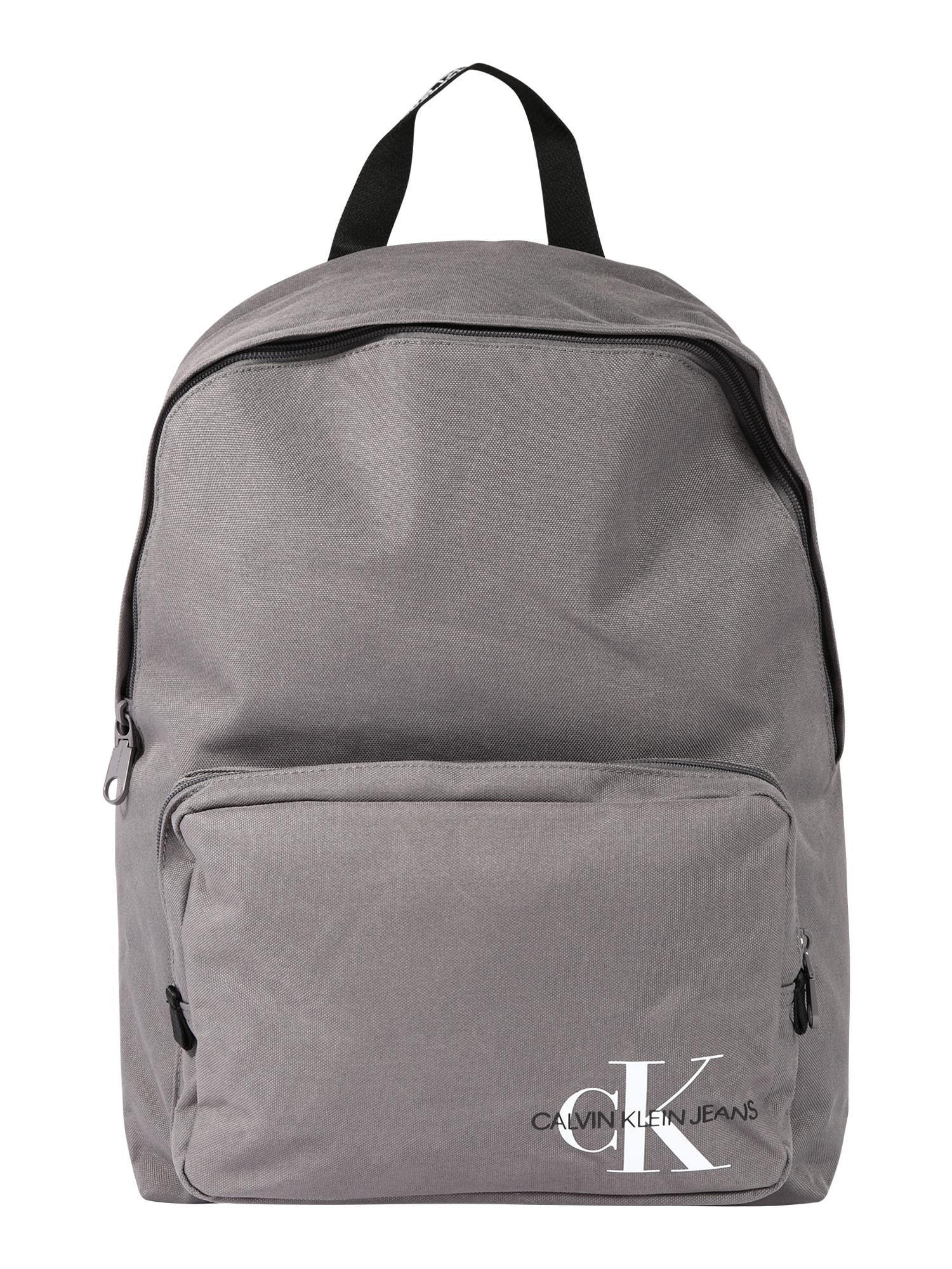 Calvin Klein Jeans Batoh 'CAMPUS BP45'  sivá
