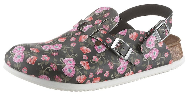 Clogs - Clog › Birkenstock › rosa schwarz  - Onlineshop ABOUT YOU