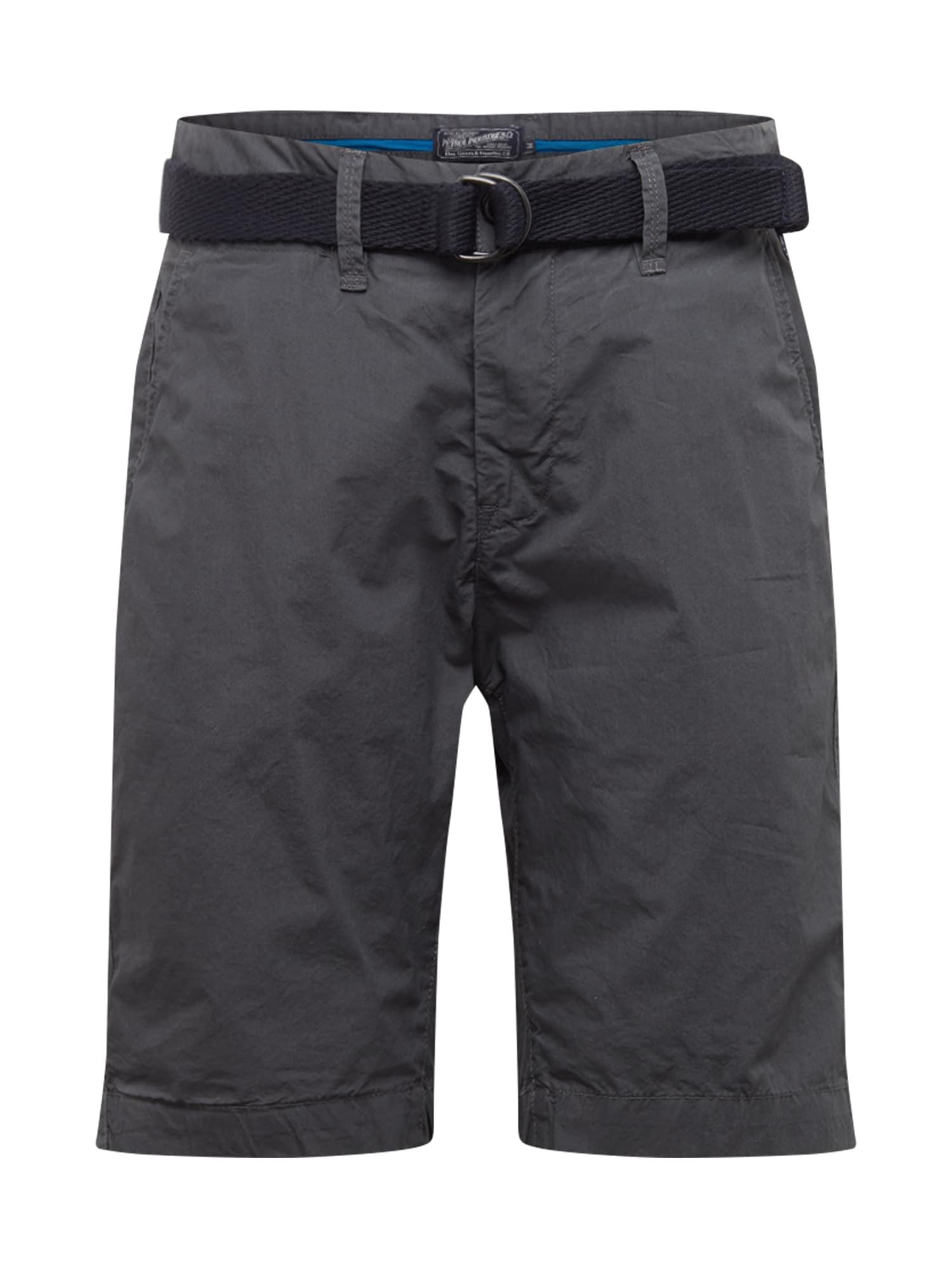 Petrol Industries Chino kalhoty  tmavě šedá