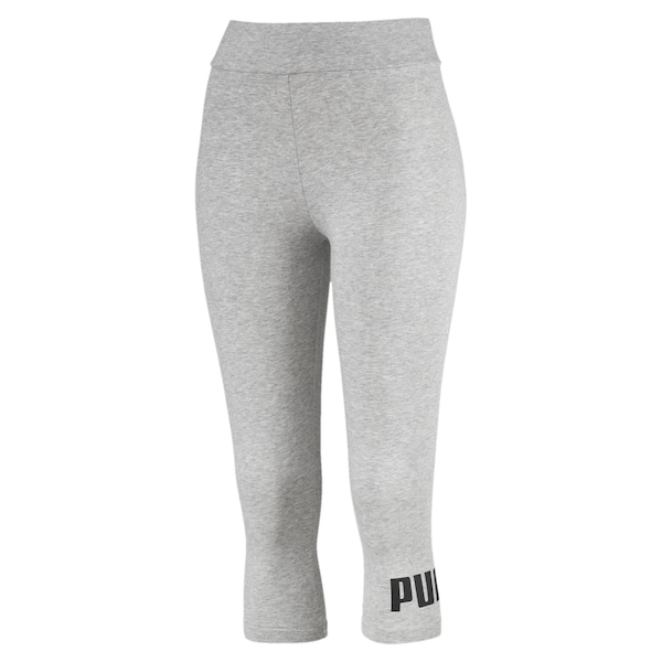 Hosen für Frauen - Leggings 'Essentials' › Puma › graumeliert  - Onlineshop ABOUT YOU