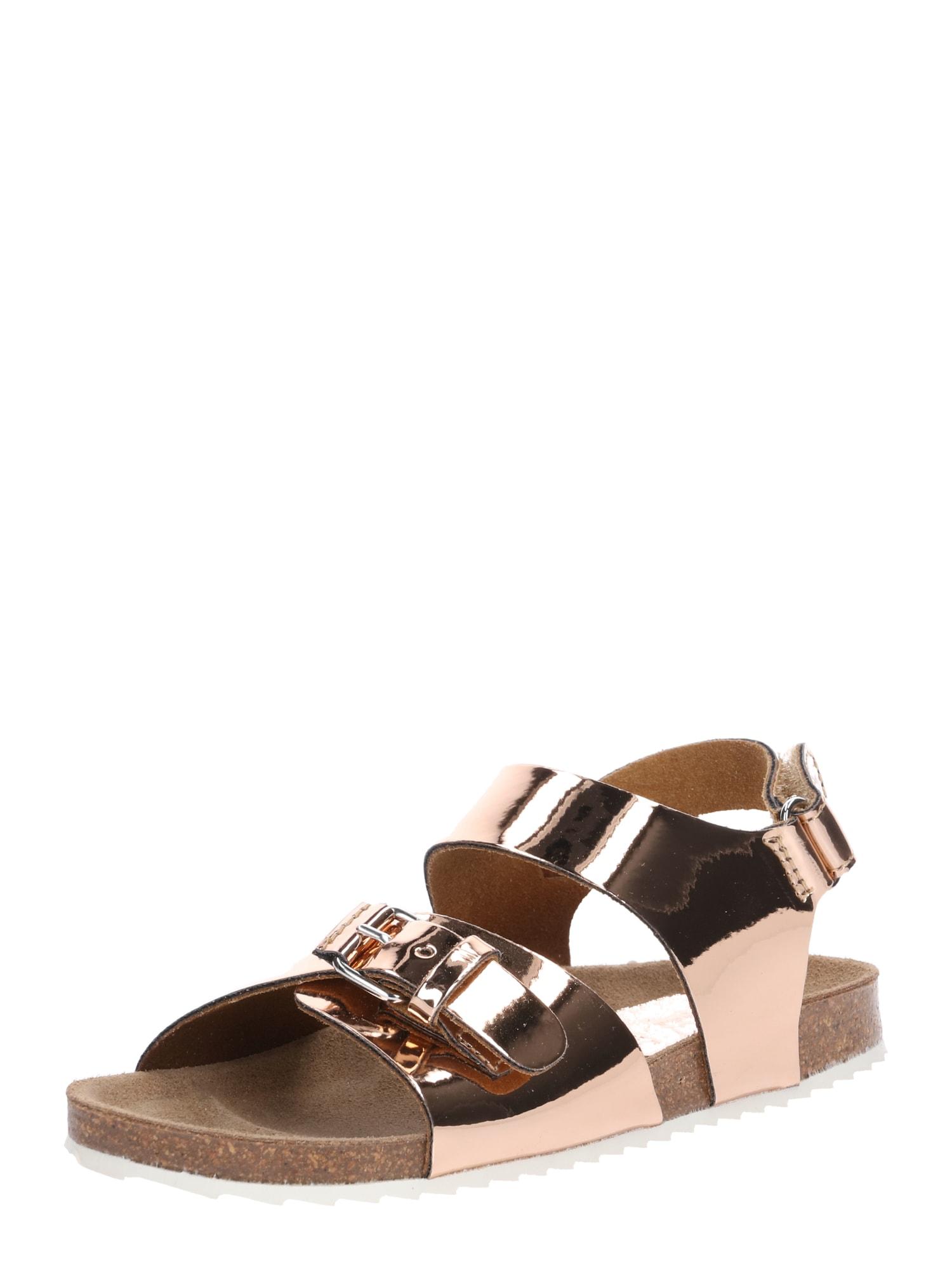 Sandály CL-MILO růžově zlatá Clic