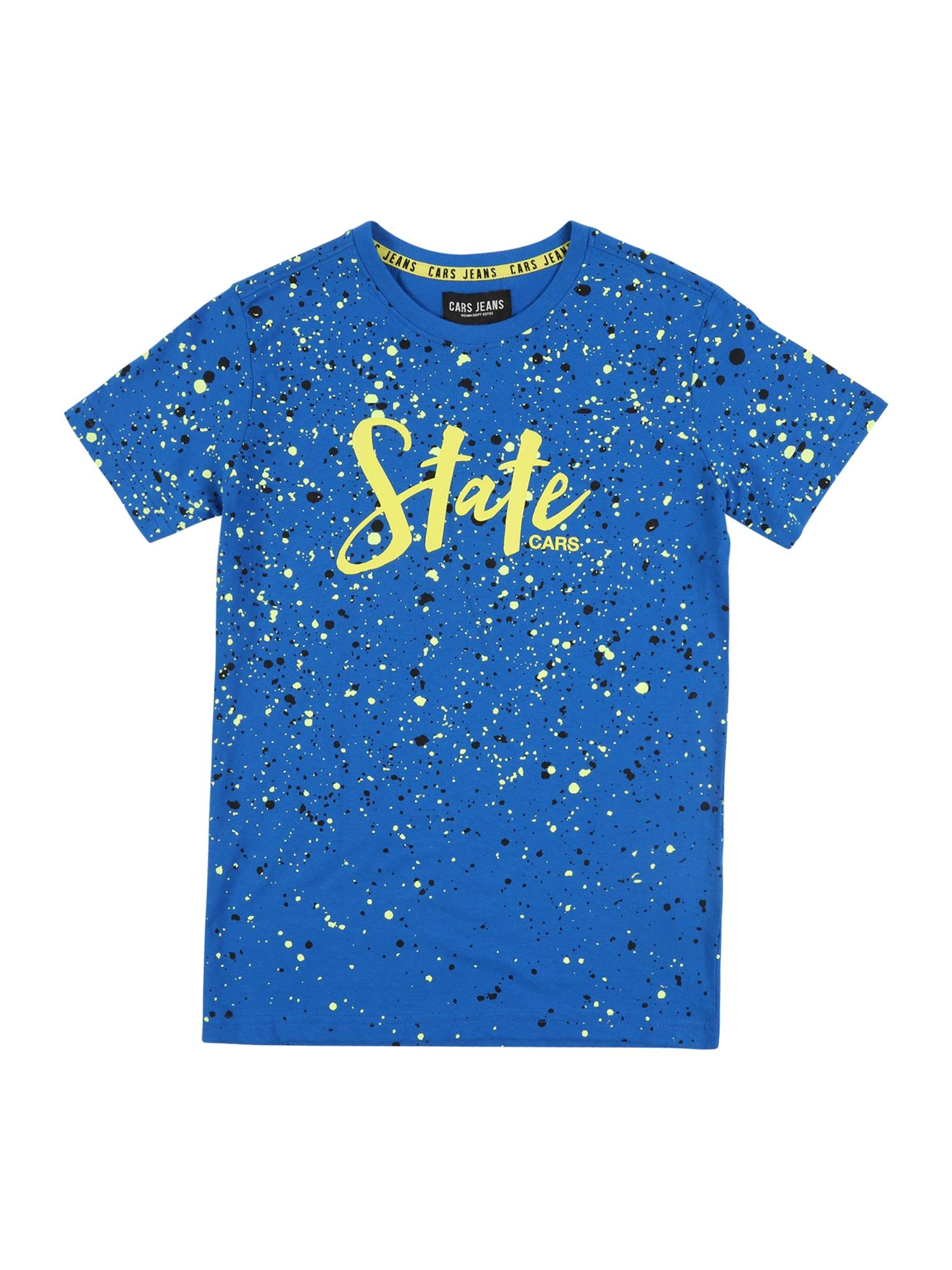 Cars Jeans Marškinėliai 'DAYSON' kobalto mėlyna