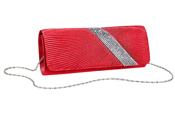 Clutches für Frauen - Heine Clutch rot  - Onlineshop ABOUT YOU