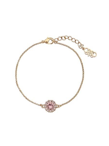 Armbaender für Frauen - LILY AND ROSE Armband 'Celeste' gold rosa  - Onlineshop ABOUT YOU