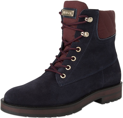 TOMMY HILFIGER Boots in Veloursleder 'W1285EST 8B'