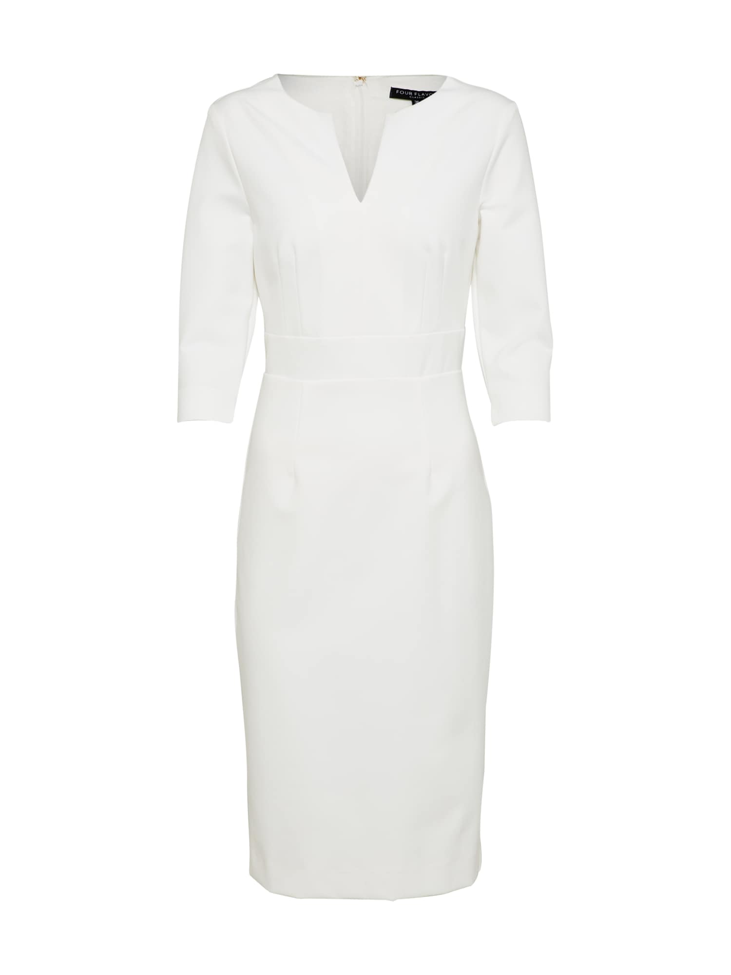 Pouzdrové šaty LETIZIA offwhite Four Flavor