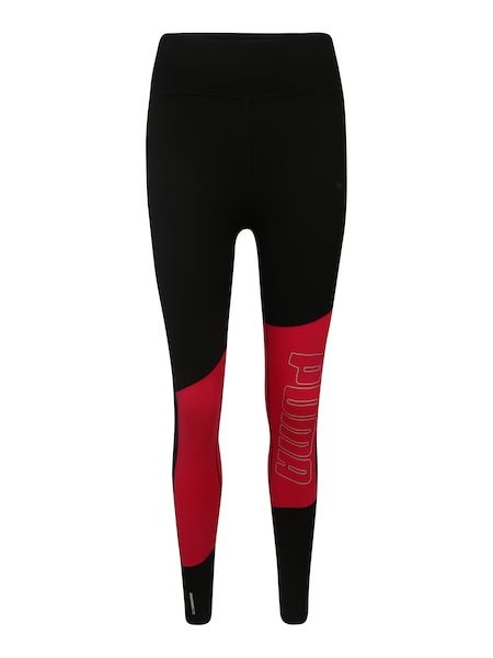 Hosen - Leggings 'Logo 7 8 Graphic' › Puma › pink schwarz  - Onlineshop ABOUT YOU