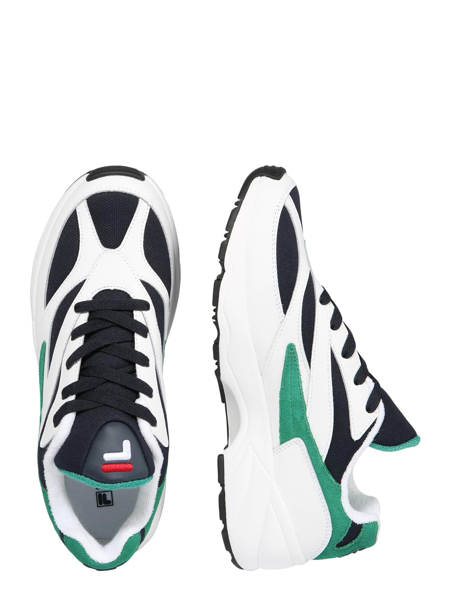 b8127e3304a FILA, Heren Sneakers laag Venom low, navy / groen / wit