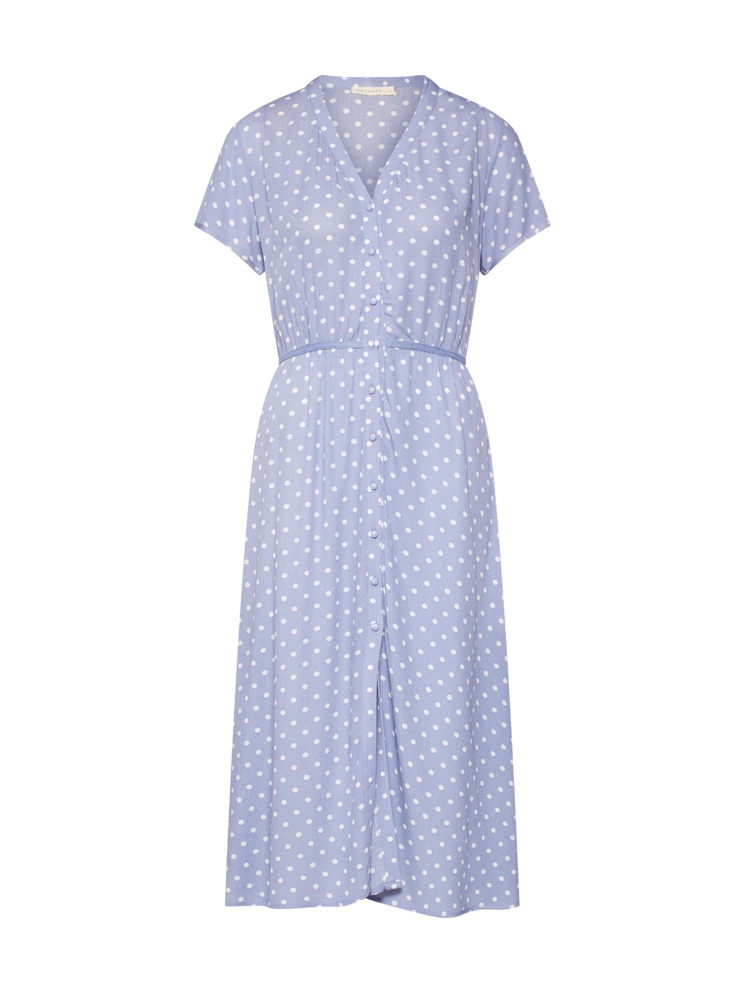 Letní šaty světlemodrá bílá ARTLOVE Paris