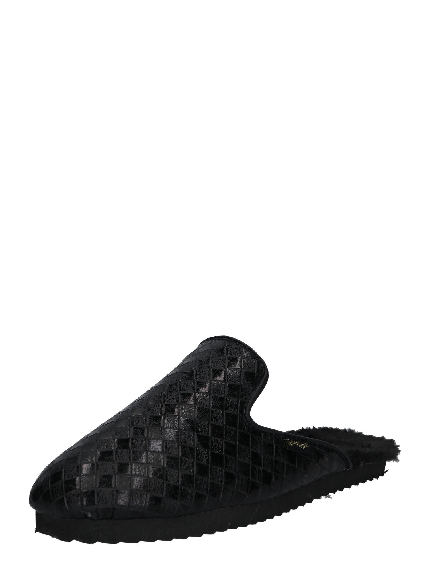 FLIPxFLOP Pantofle slipperxbraided černá FLIP*FLOP