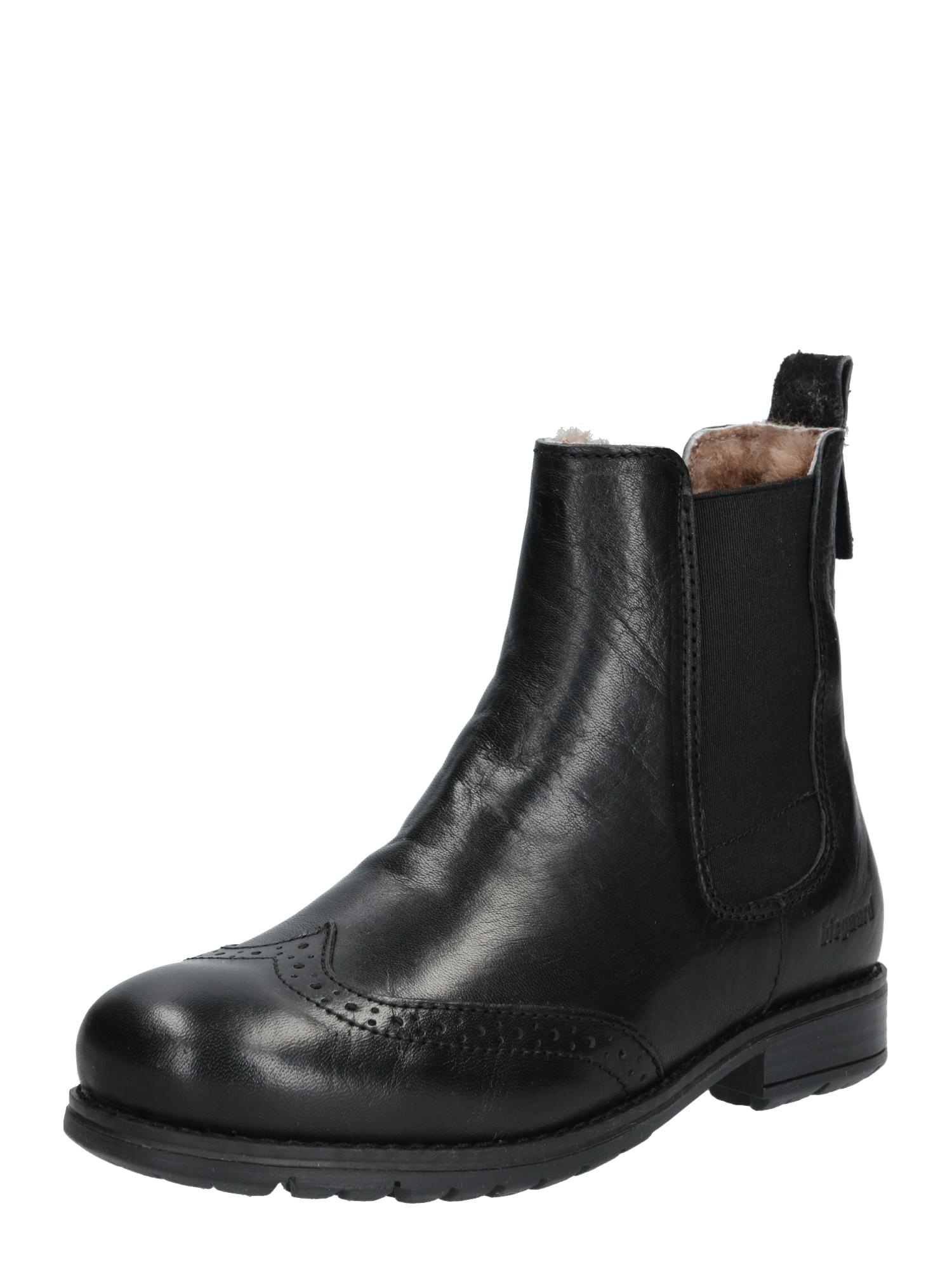 BISGAARD Auliniai batai su kulniuku juoda