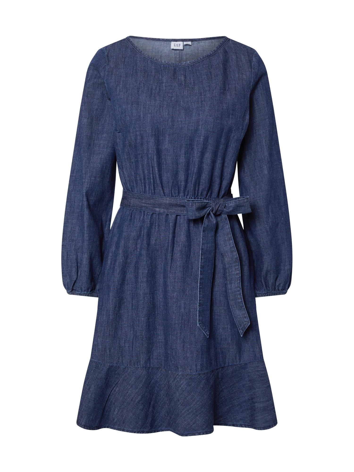 GAP Vasarinė suknelė indigo spalva