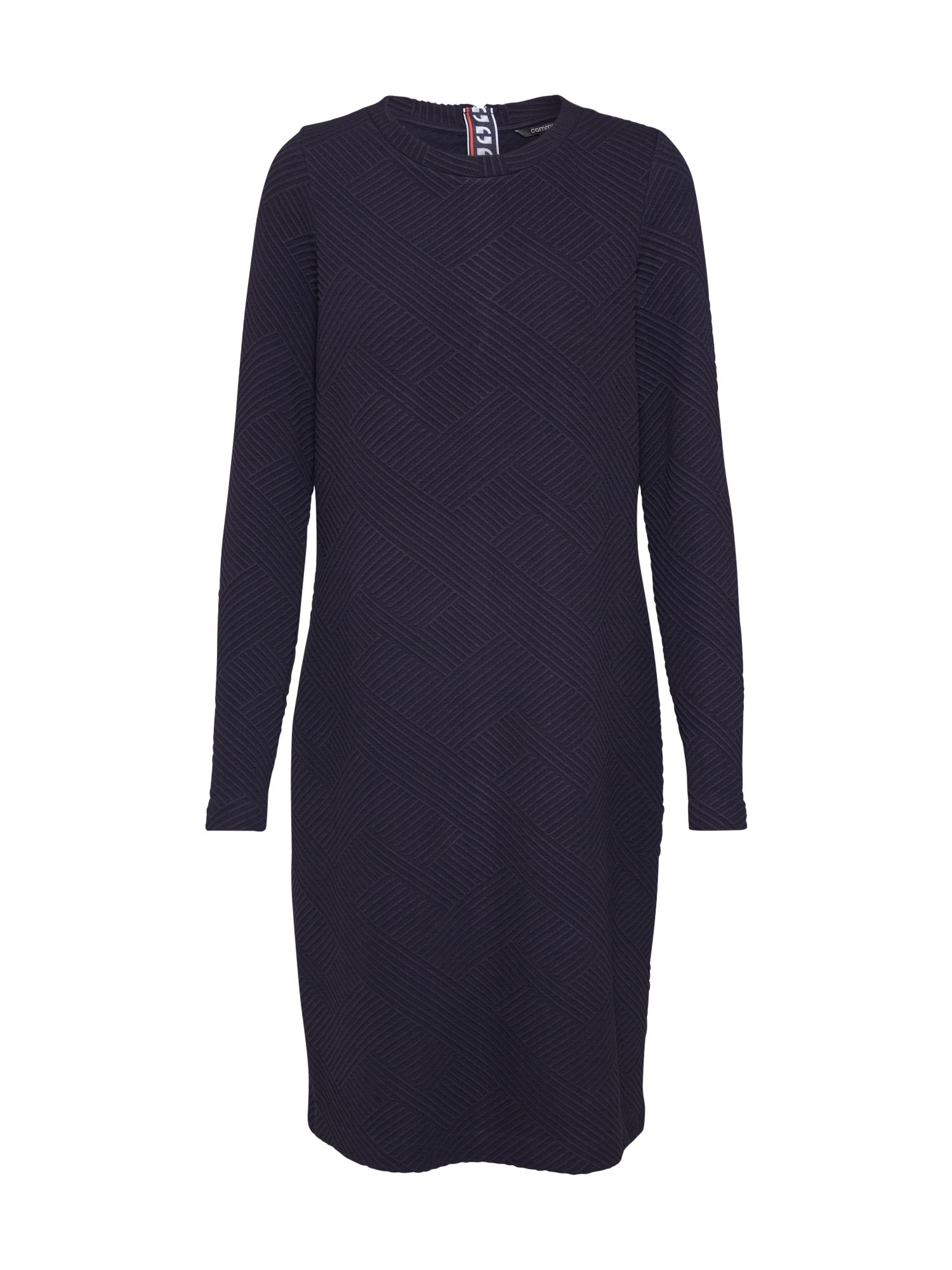 COMMA Megzta suknelė tamsiai mėlyna