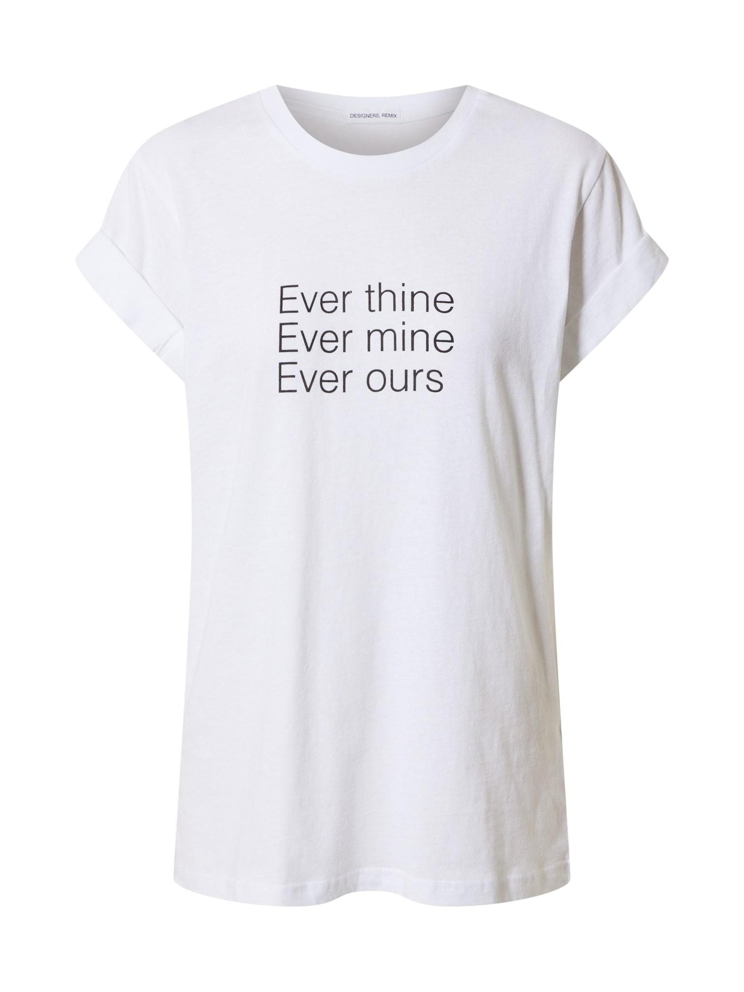 Designers Remix Marškinėliai balta