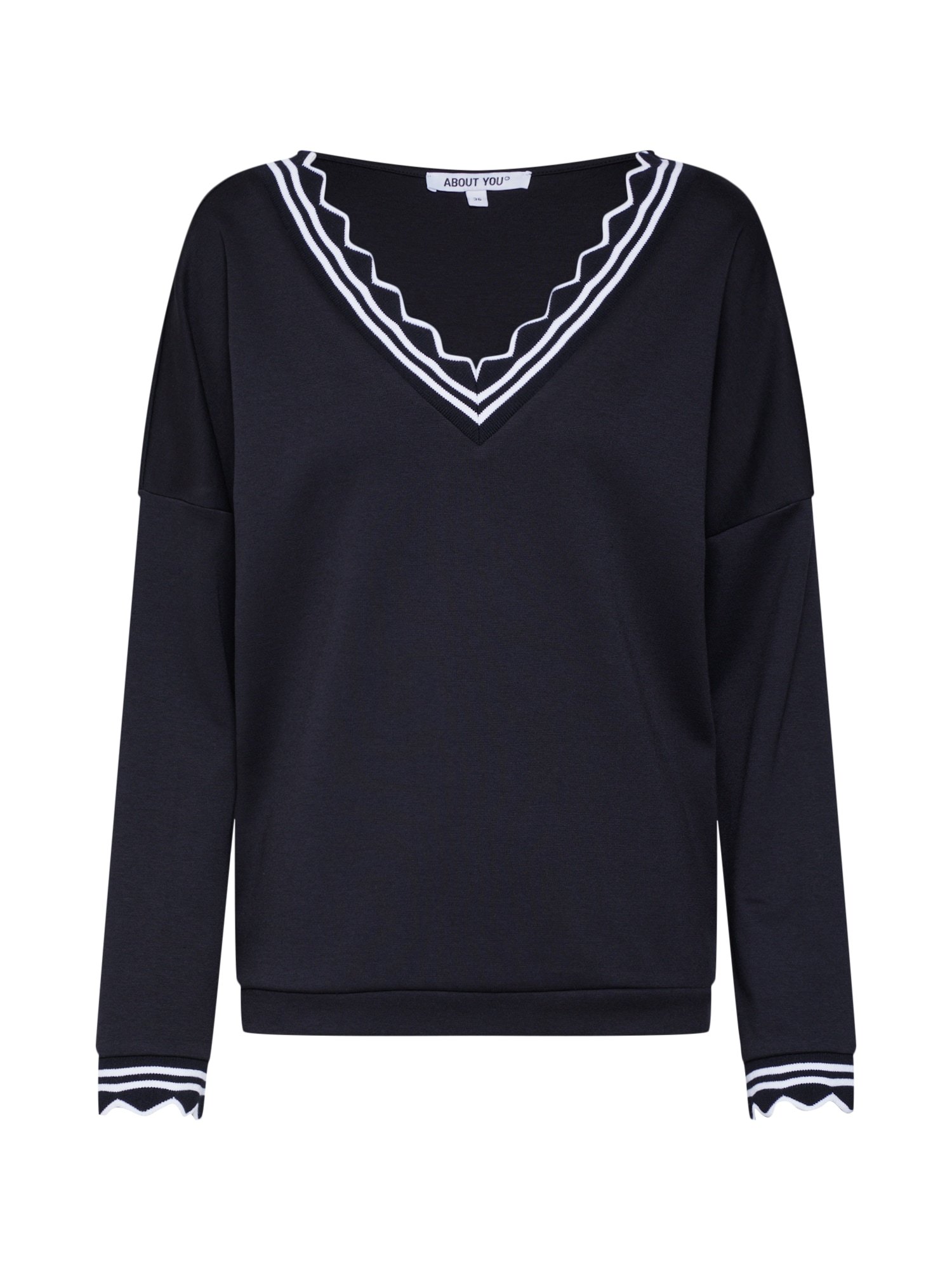 ABOUT YOU Megztinis 'Eleonore' juoda