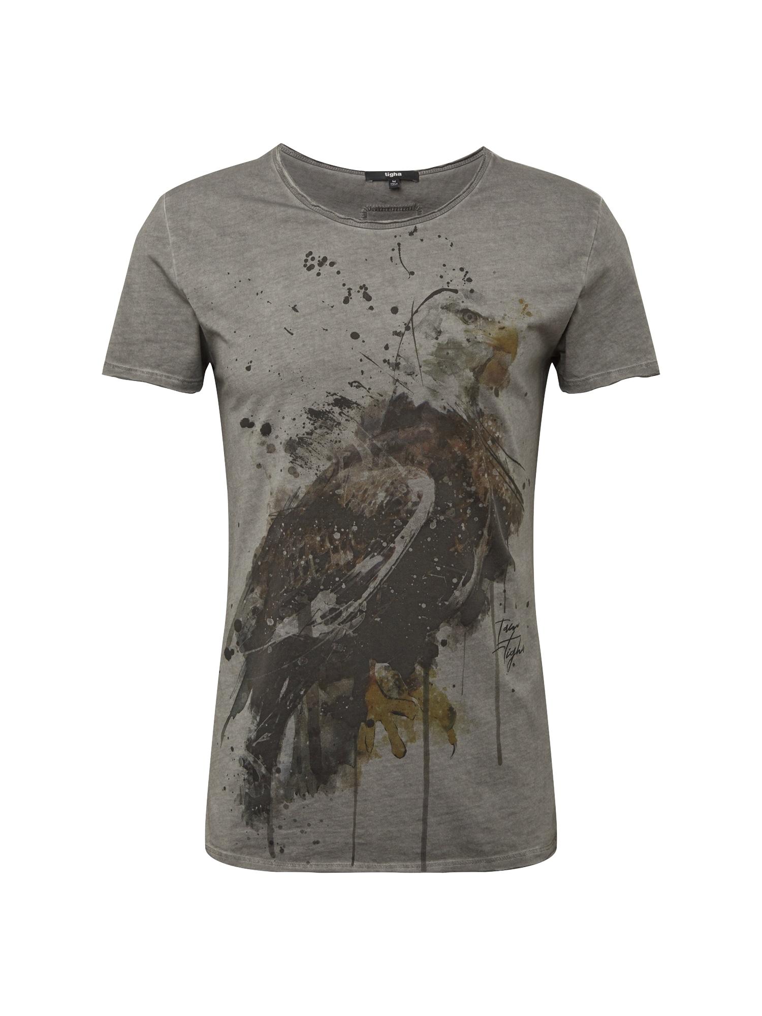 Tričko Watercolor eagle MSN šedá Tigha