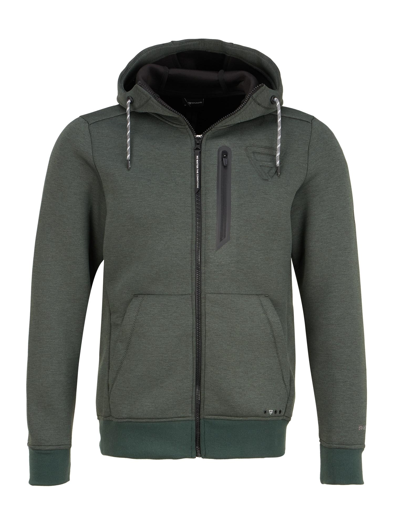 BRUNOTTI Sportinis džemperis 'Staghorn' žalia