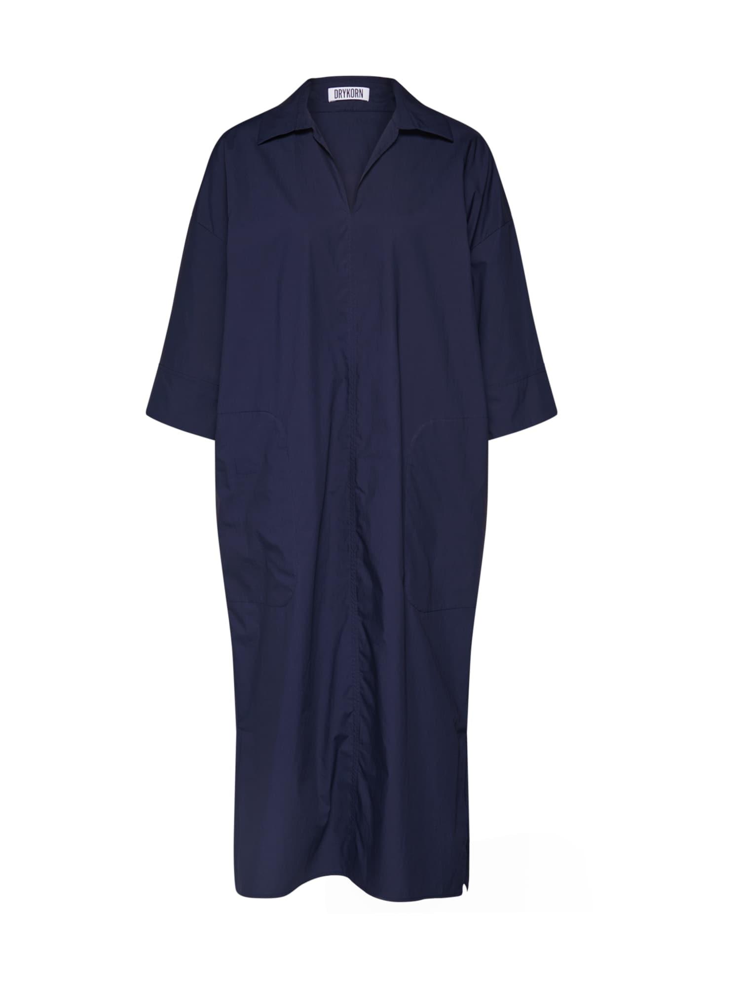 DRYKORN Palaidinės tipo suknelė 'CHARRI' tamsiai mėlyna