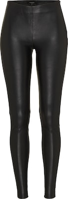 SELECTED FEMME Leggings 'SFSYLVIA MW STRETCH LEATHER'