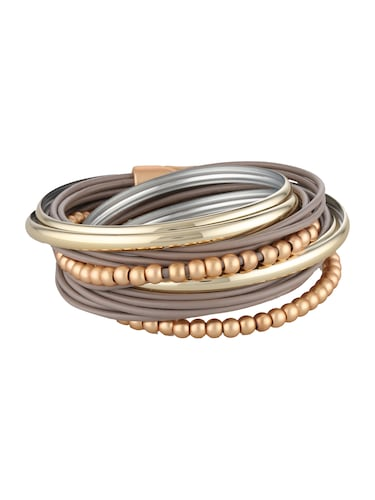 Armbaender für Frauen - Sweet Deluxe Armband 'Torence' gold taupe  - Onlineshop ABOUT YOU