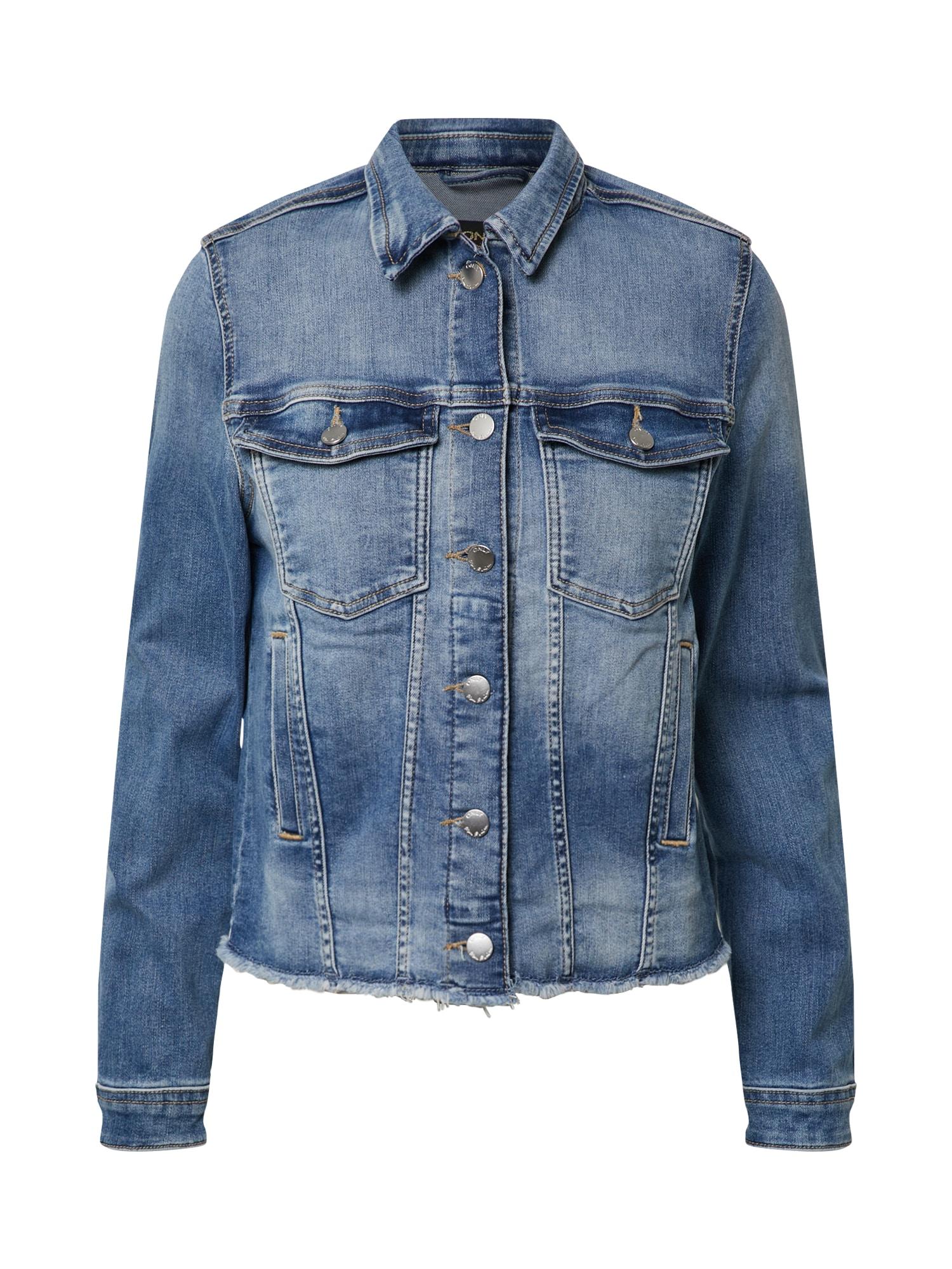 ONLY Demisezoninė striukė 'BLUSH' tamsiai (džinso) mėlyna