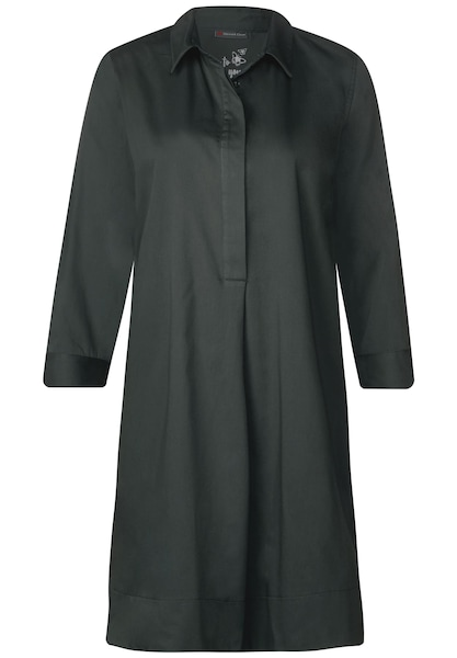 Kleider für Frauen - STREET ONE Blusen Kleid dunkelgrün  - Onlineshop ABOUT YOU