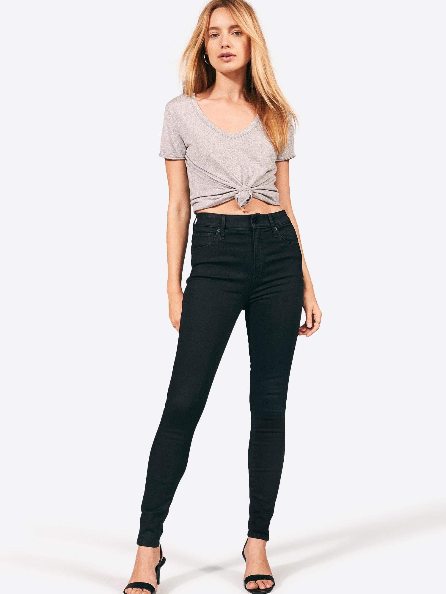 Abercrombie & Fitch Jeans 'Simone'  svart denim
