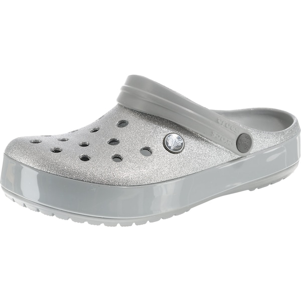 Clogs für Frauen - Crocs Clog 'Glitter Sil Crocband' silber  - Onlineshop ABOUT YOU