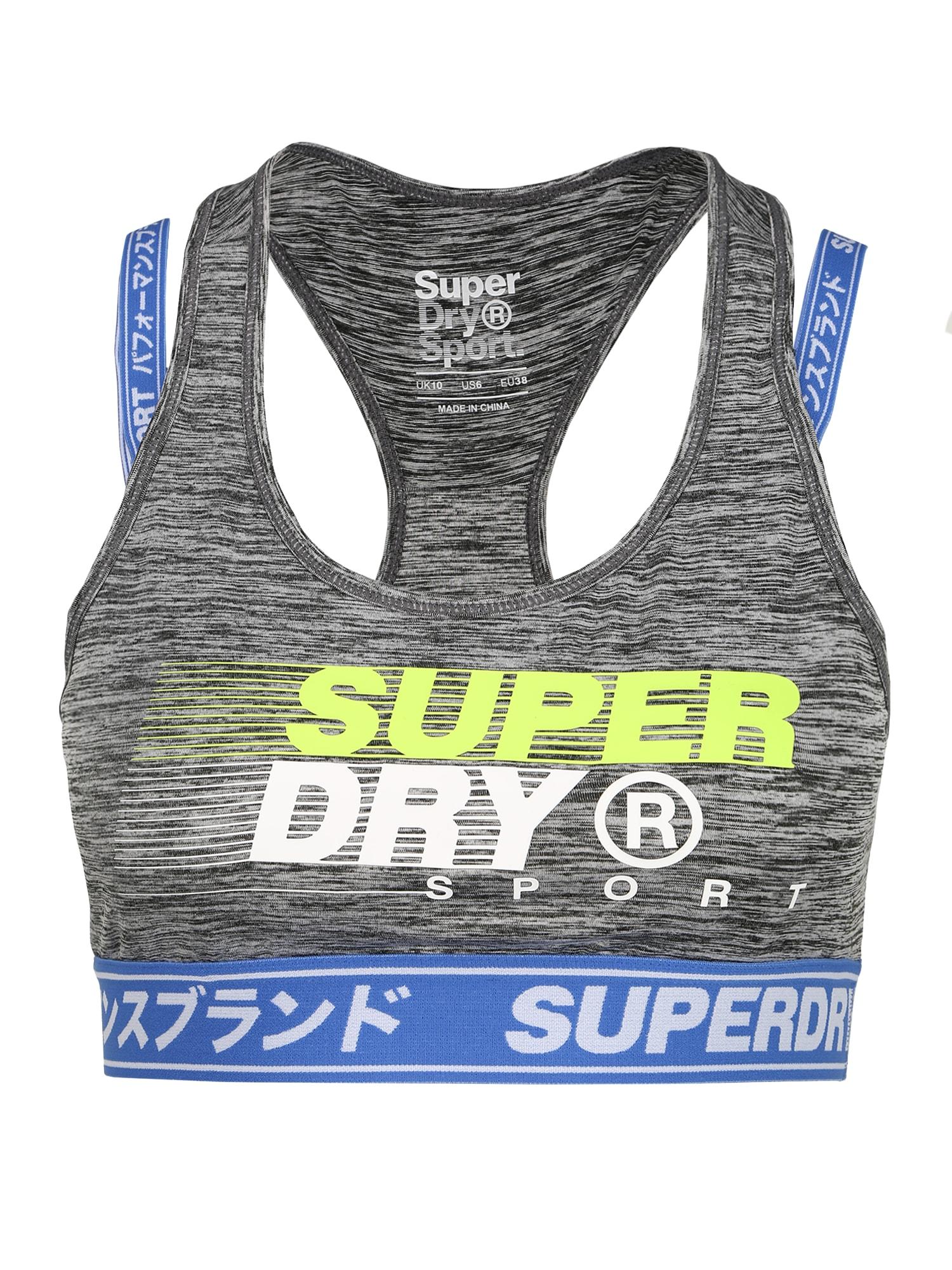 Superdry Sportmelltartók  kék / citromzöld / szürke melír