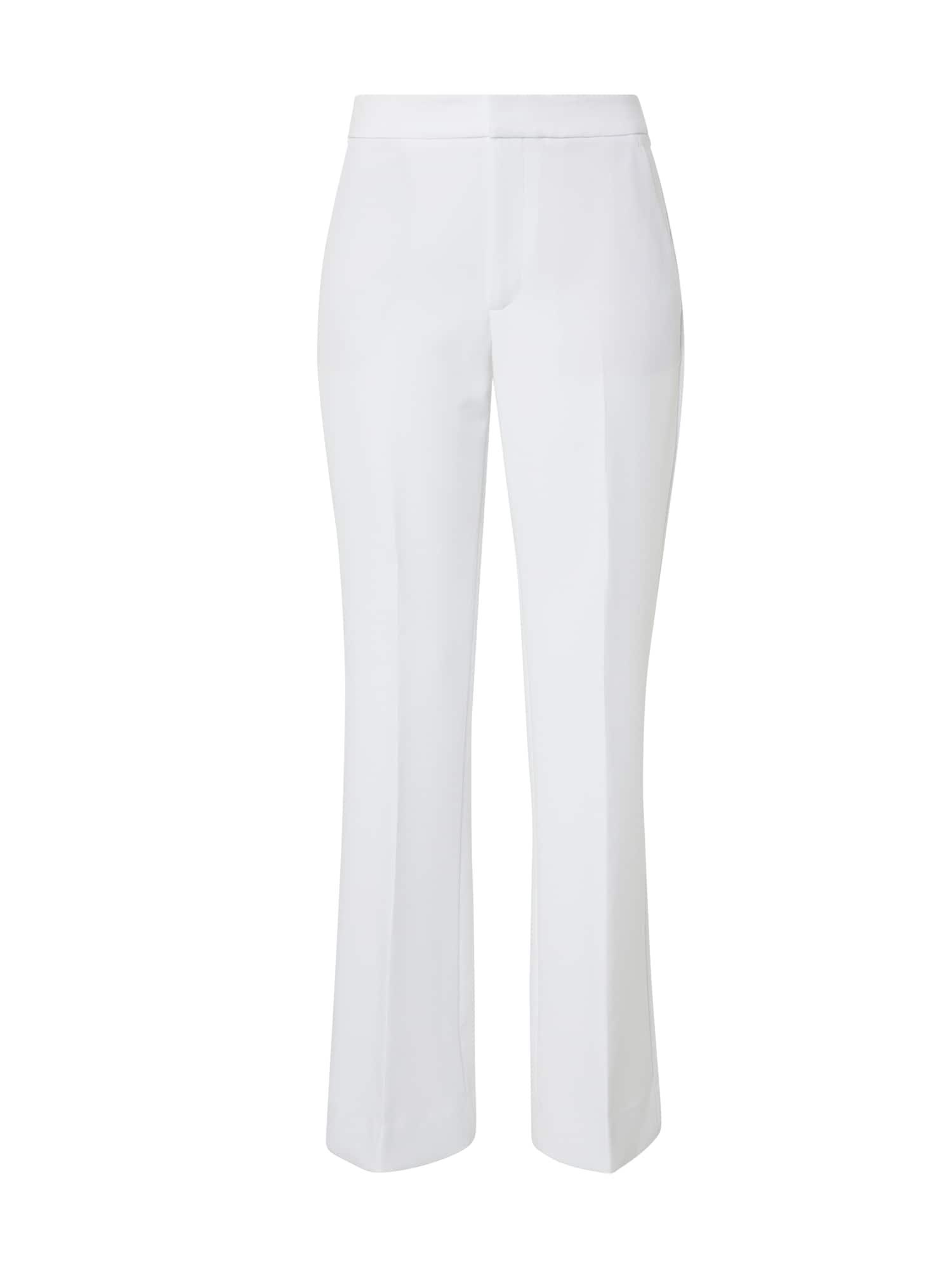 Banana Republic Kelnės su kantu 'SOLIDS' balta
