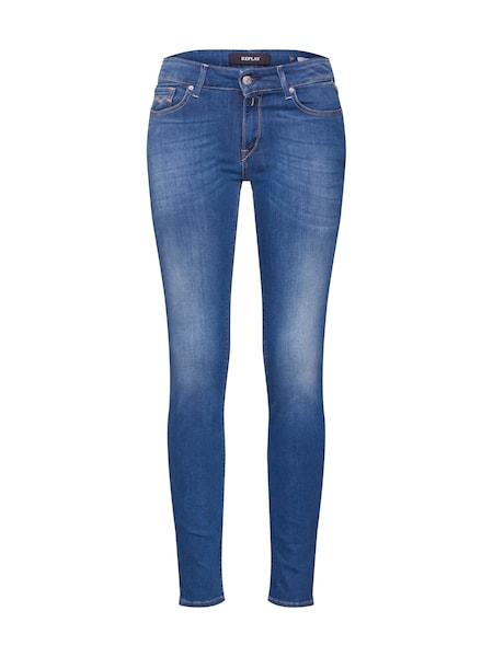 Hosen für Frauen - Jeans 'Luz' › Replay › blue denim  - Onlineshop ABOUT YOU