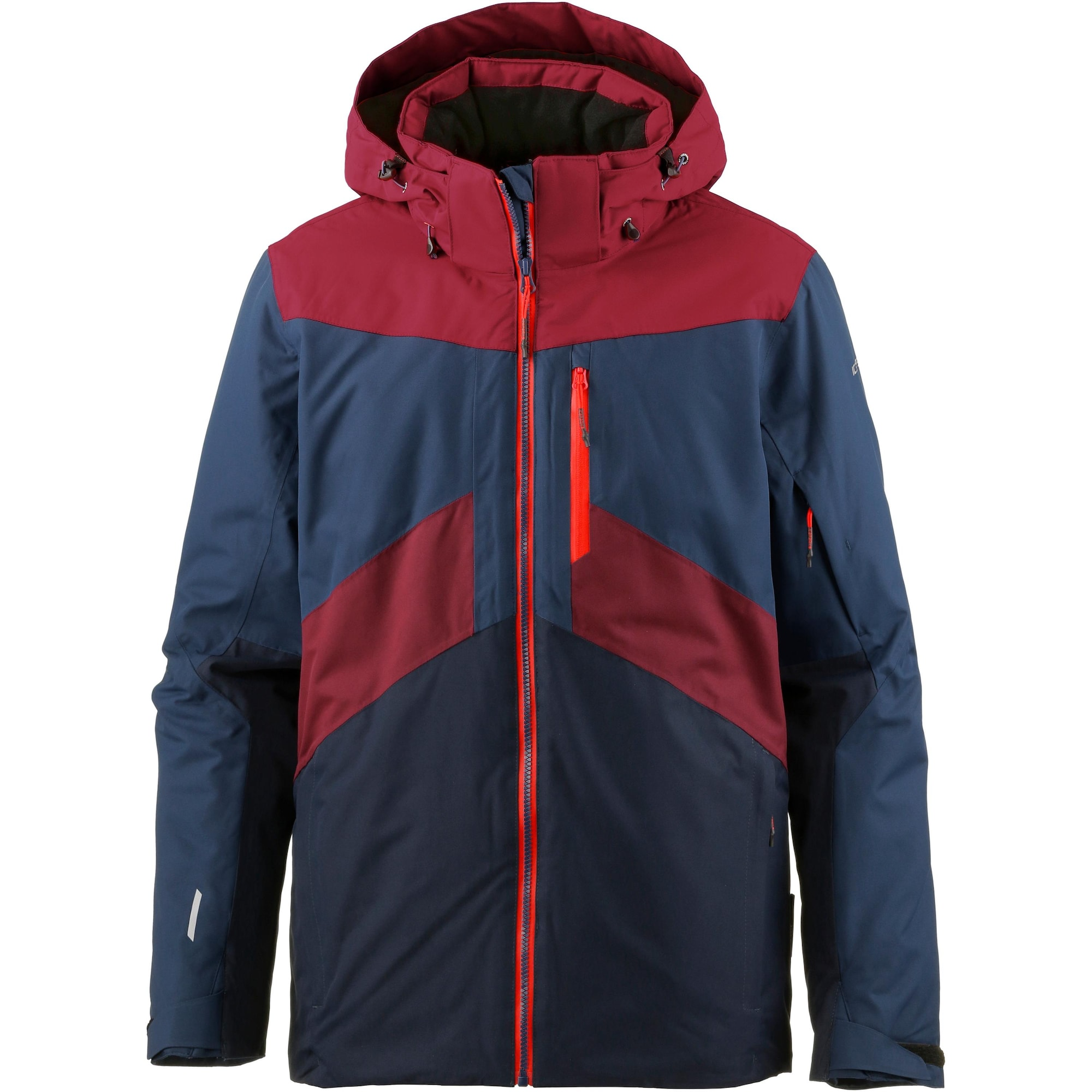 Sportovní bunda KRIS marine modrá červená ICEPEAK