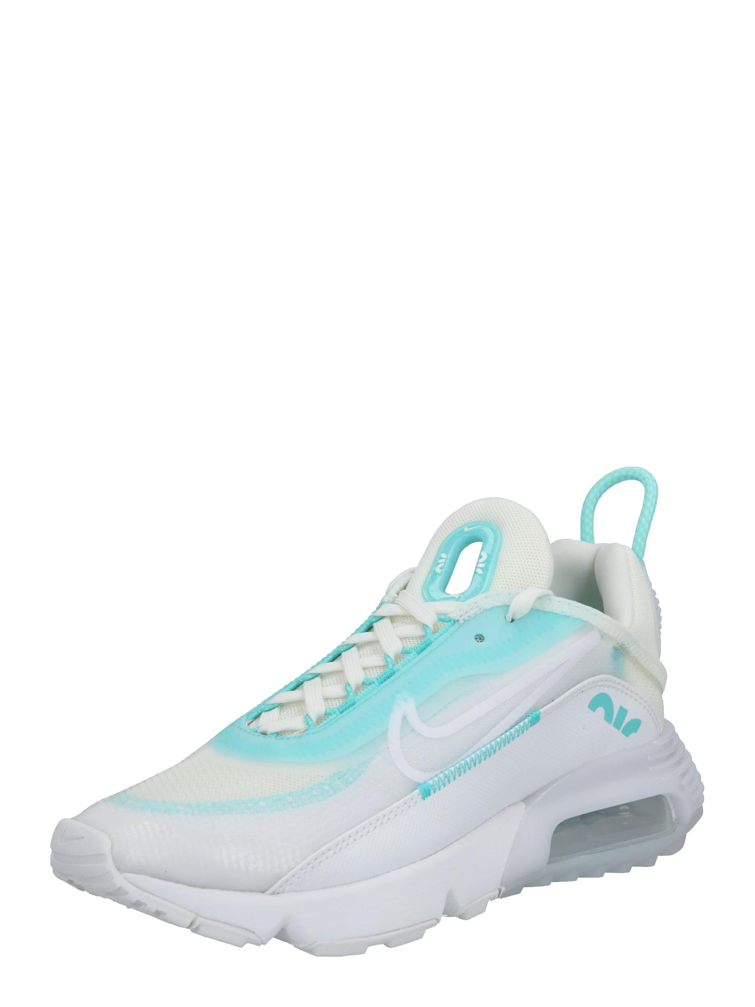 Nike Sportswear Sportbačiai be auliuko 'Air Max 2090' mėtų spalva / balta