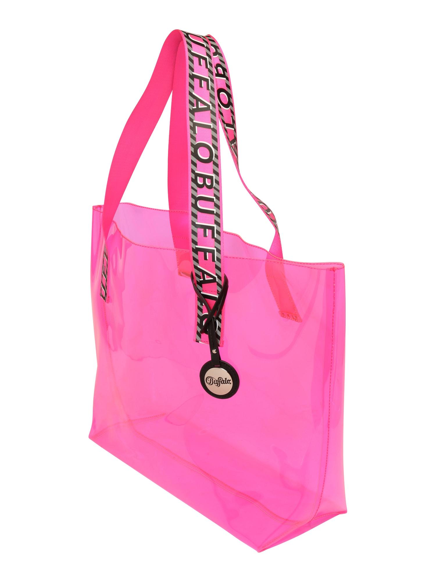 BUFFALO Pirkinių krepšys 'KORI' rožinė
