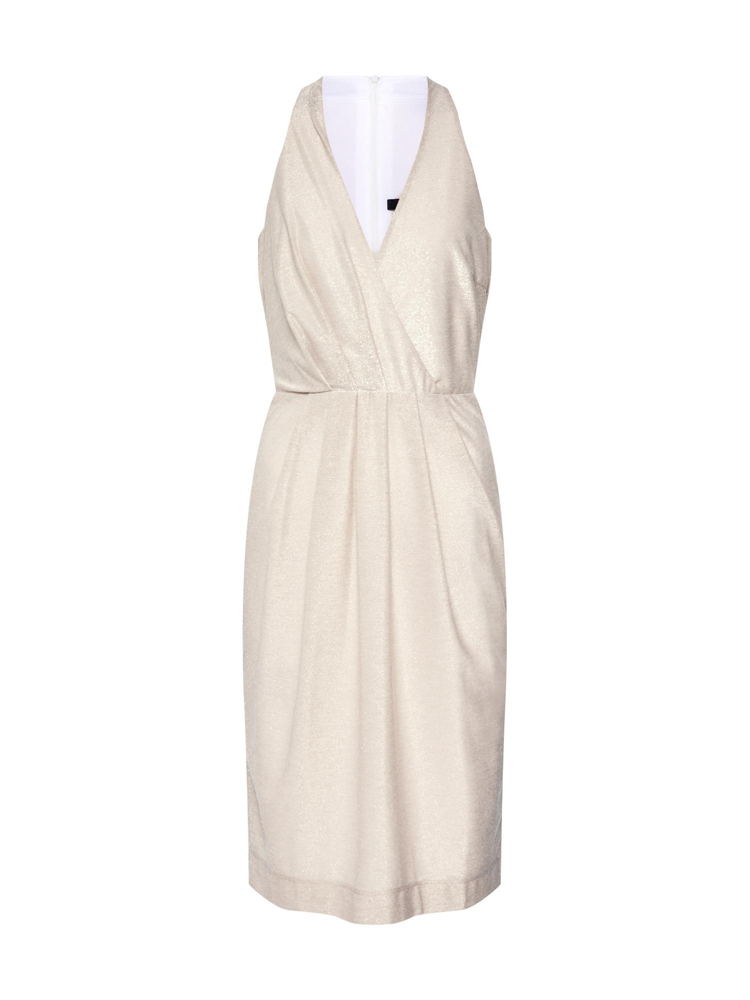 SWING Koktejlové šaty  zlatá