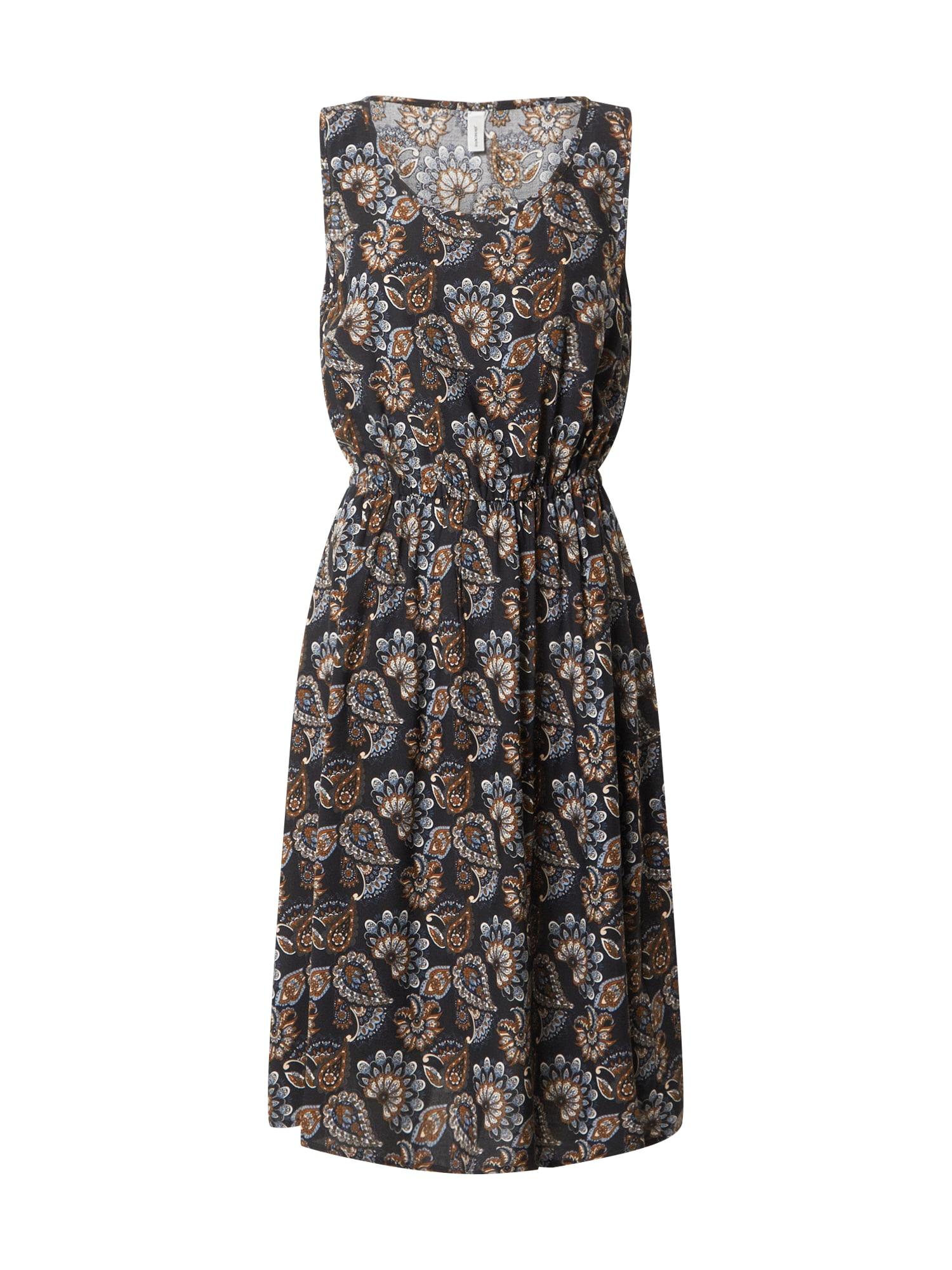 Soyaconcept Letné šaty 'KRIS'  kobaltovomodrá / zmiešané farby