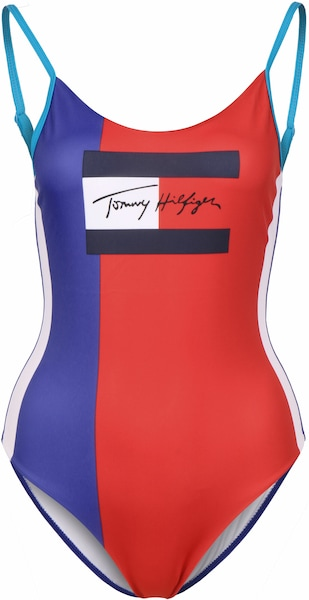 Bademode - Badeanzug › Tommy Hilfiger › rot blau  - Onlineshop ABOUT YOU