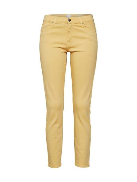 Hosen für Frauen - BOSS Jeans 'J21 Selma' gelb  - Onlineshop ABOUT YOU