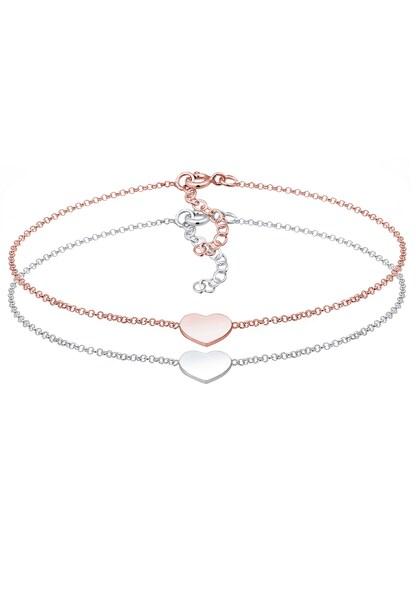 Armbaender für Frauen - ELLI Armband rosegold silber  - Onlineshop ABOUT YOU