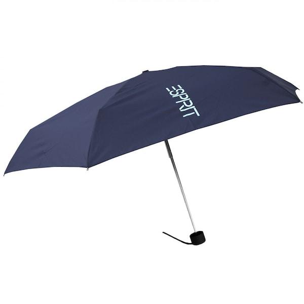 Regenschirme für Frauen - ESPRIT Petito Mini Taschenschirm Piccolo blau  - Onlineshop ABOUT YOU