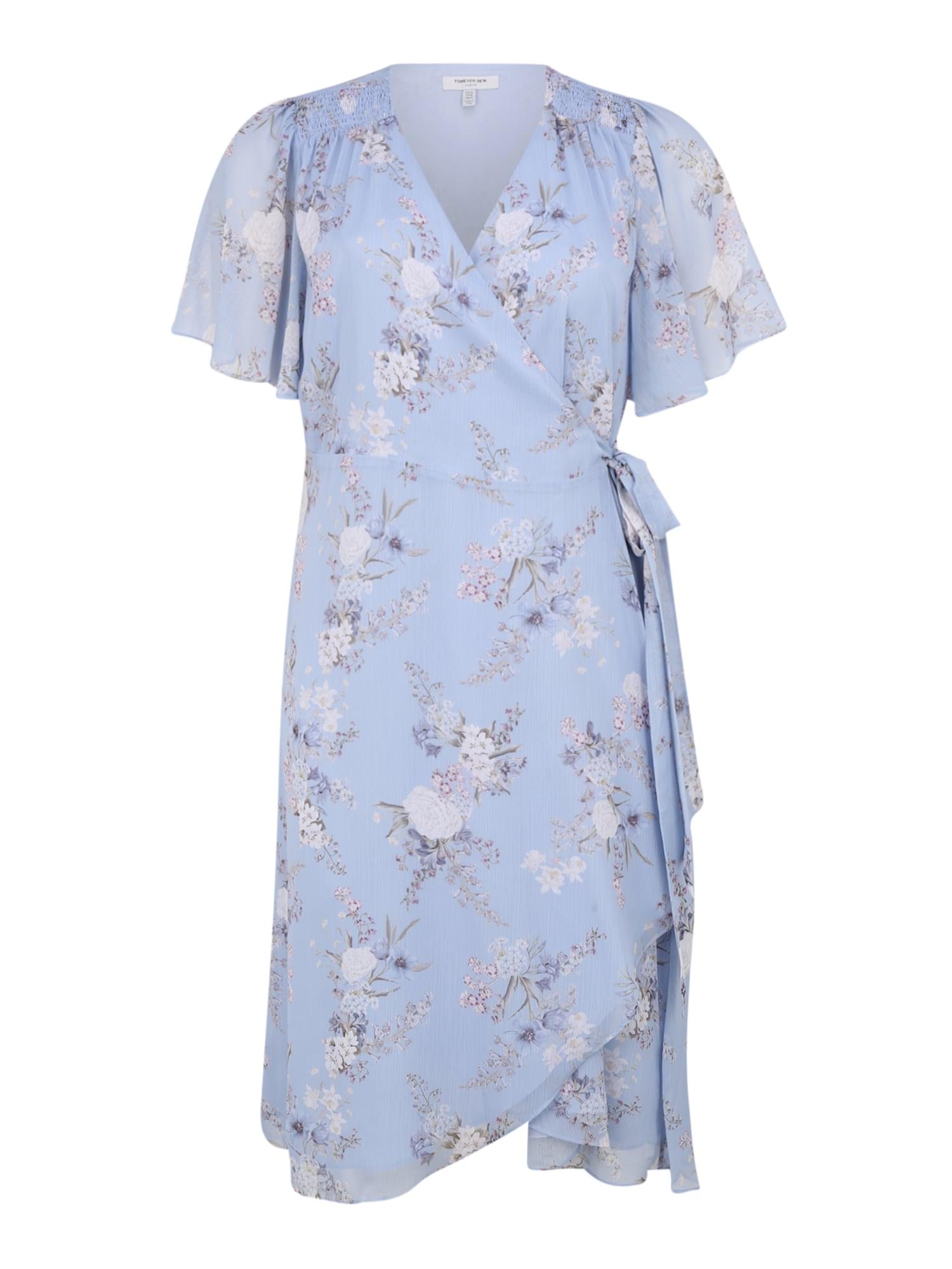 Forever New Vasarinė suknelė 'EBONY RUCHED ' šviesiai mėlyna