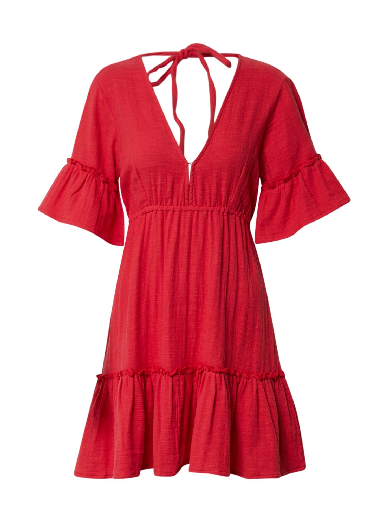 BILLABONG Vasarinė suknelė 'Lovers wish' raudona