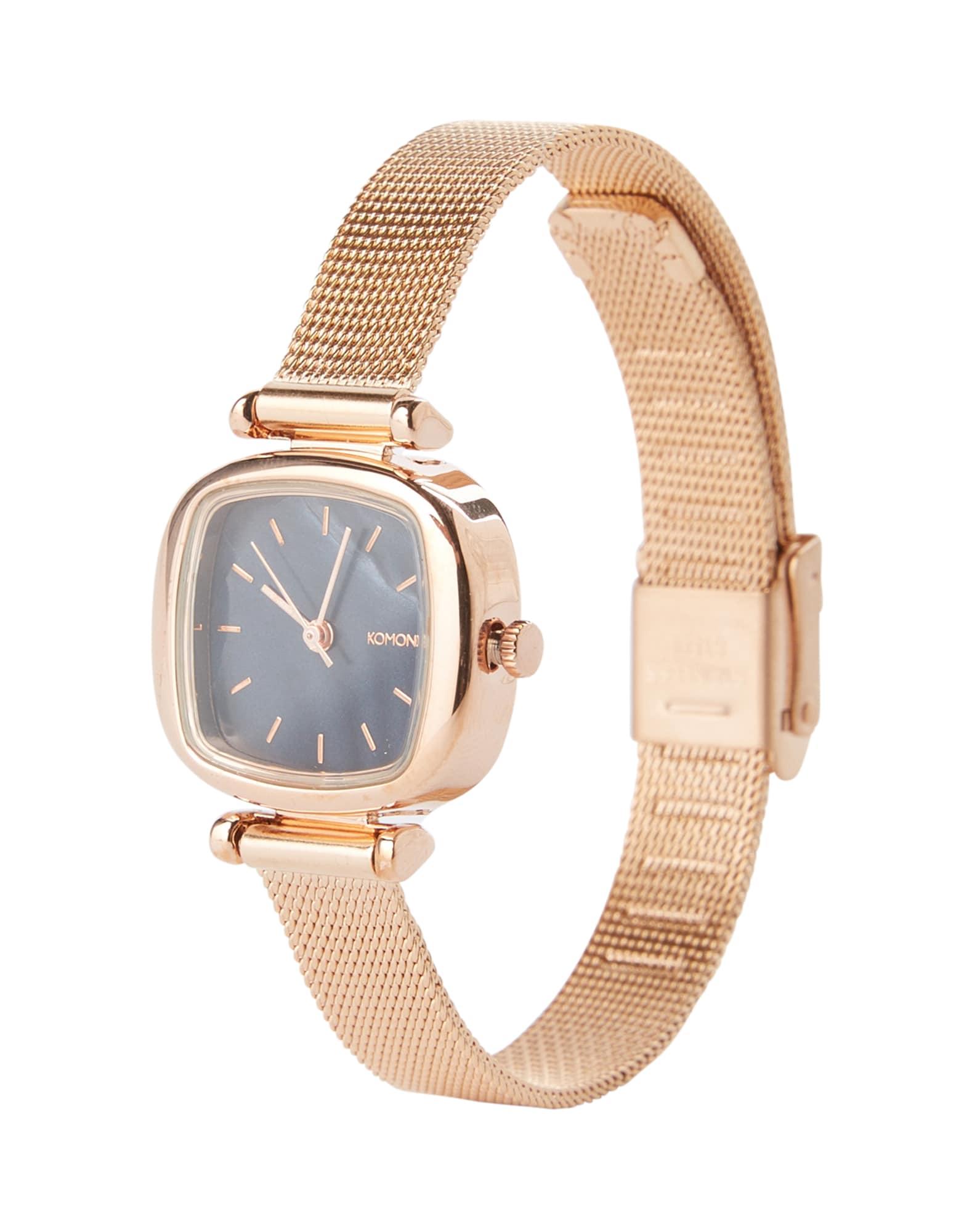 Analogové hodinky Moneypenny Royale růže černá Komono
