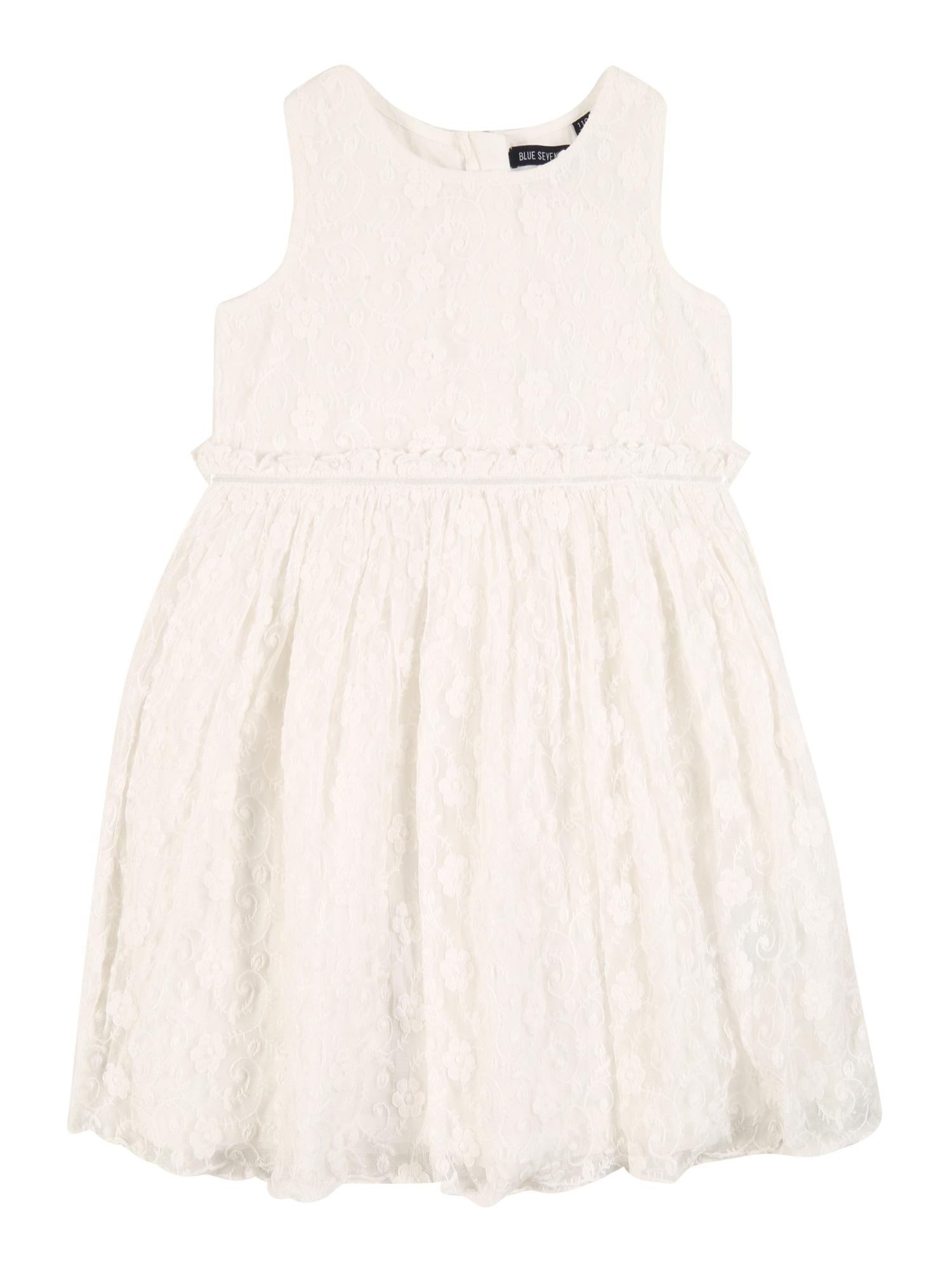BLUE SEVEN Suknelė balto džinso spalva